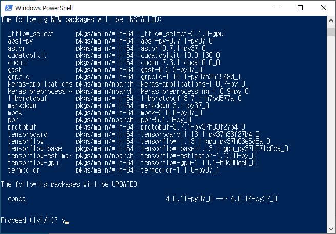 윈도우 텐서플로우 GPU 설치 - HiSEON