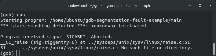 Segmentation Fault 디버깅 방법