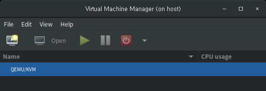 virt-manager 사용법