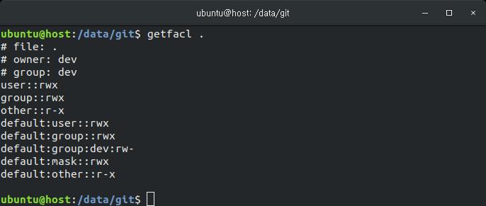 리눅스 권한 설정 방법