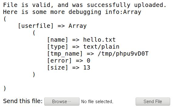 PHP 파일 업로드 예제